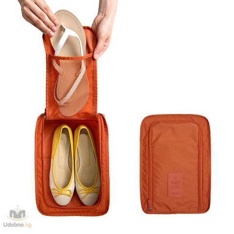 Сумка для хранения и переноски обуви 32*21*15 см
