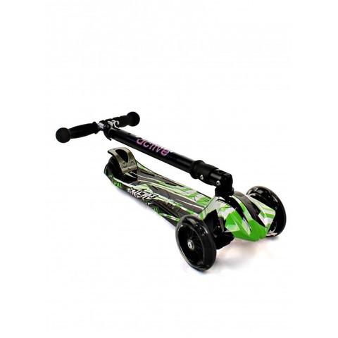 Трехколесный самокат Triumf Active Maxi Plus Print Racer