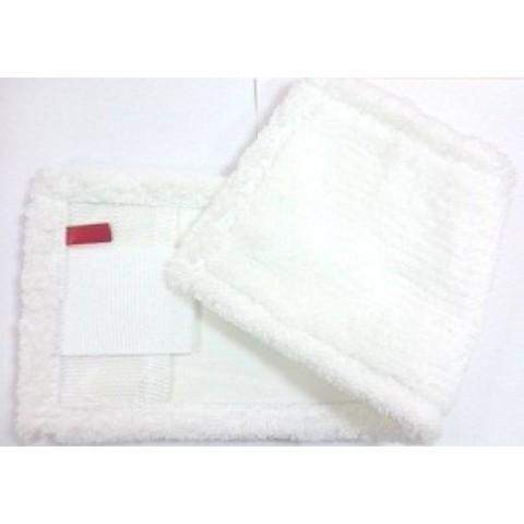 18401500 Моп плоский из микрофибры, карманы/ленты Standard, 40х13 см