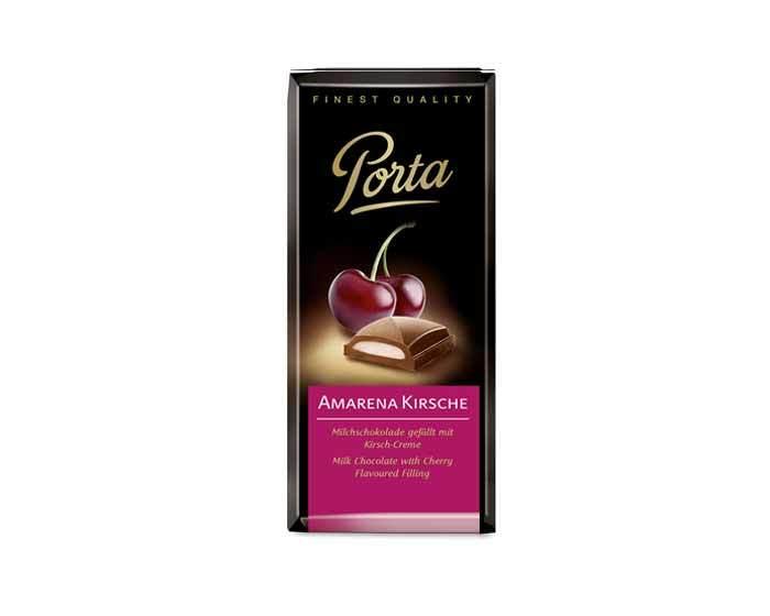 Молочный шоколад с вишней Weinrichs 1895 Porta, 100 г