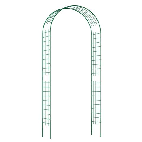 Арка прямая узкая решетка