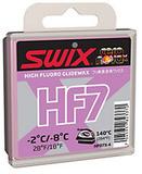 Парафин лыжный высокофтористый Swix HF07X-4 Violet -2C/-8C 40гр