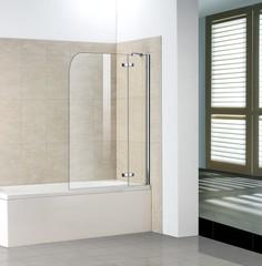 Стеклянная шторка на ванну WeltWasser WW 100D2 70