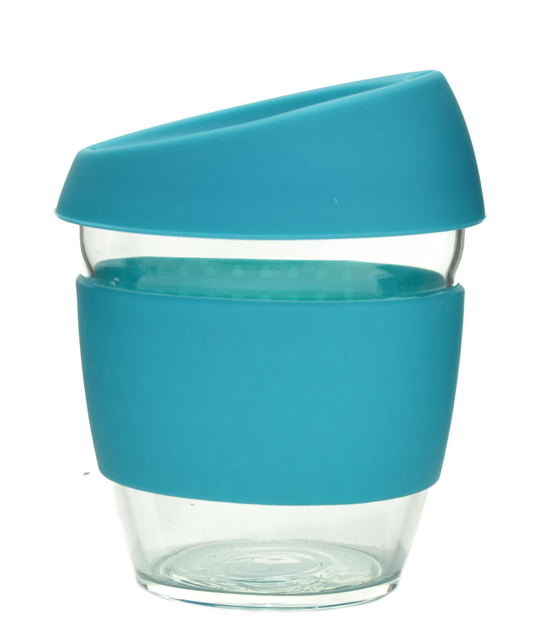 Кружка Coffee Cup из боросиликатного стекла 226 мл. голубой