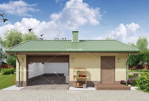 Проект гаража со смотровой ямой