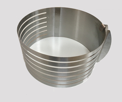 Форма для нарезания коржей раздвижная, D16-20 H8 см
