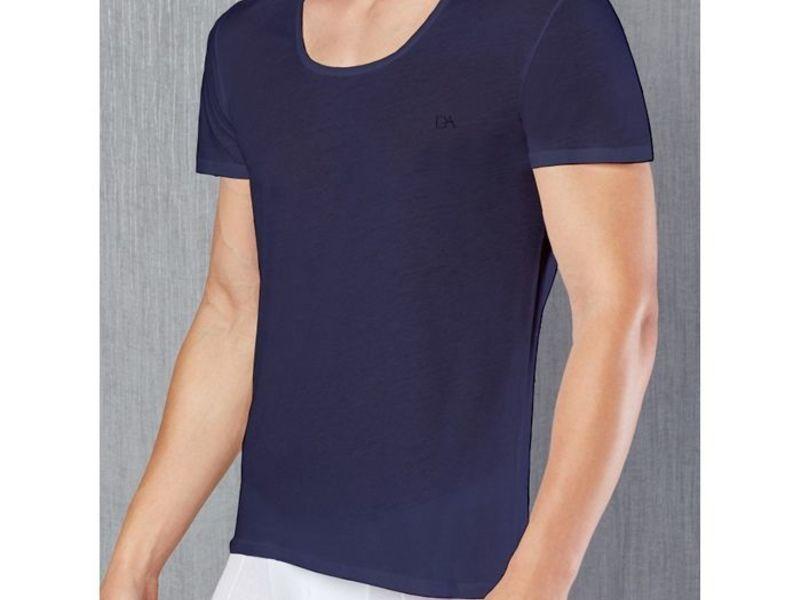 Мужская футболка темно-синяя Doreanse 2525