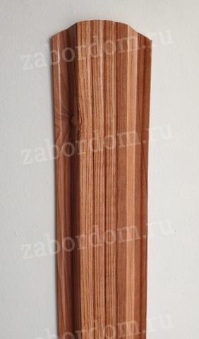 Евроштакетник металлический 115 мм Золотое дерево П - образный 0.5 мм