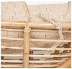 Диван Мамасан  (MAMASAN) ECO; M119/23-02 SP — без подушки   Natural (натуральный)