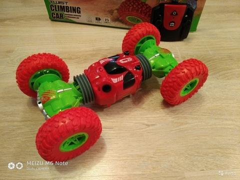 Машинка трюковая 32 см на радиоуправлении Twist climbing Car