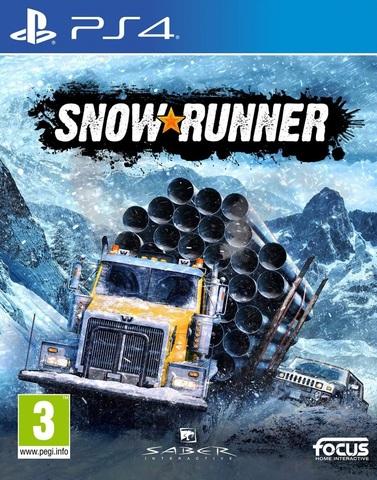 PS4 SnowRunner Стандартное издание (русская версия)