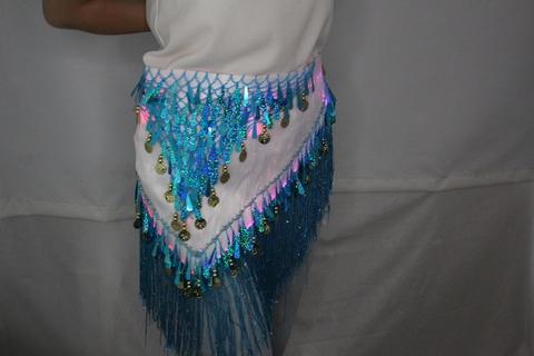 Светящийся набедренный шарф
