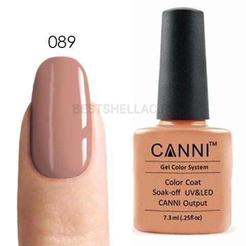 Canni Canni, Гель-лак № 089, 7,3 мл 089.jpg