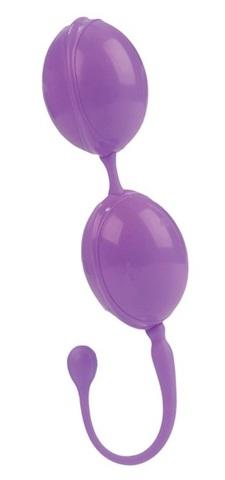 Фиолетовые вагинальные шарики LAmour Premium Weighted Pleasure System