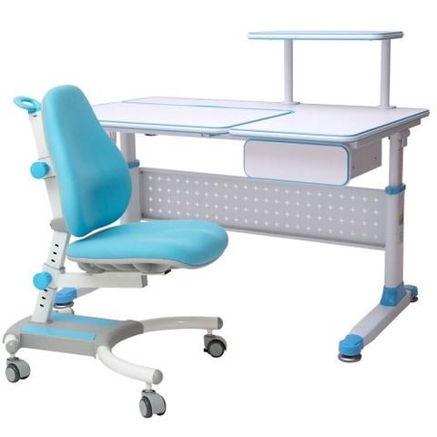 Парта растущая RIFFORMA Comfort 34 + Кресло Comfort 33/С с чехлом В ПОДАРОК!