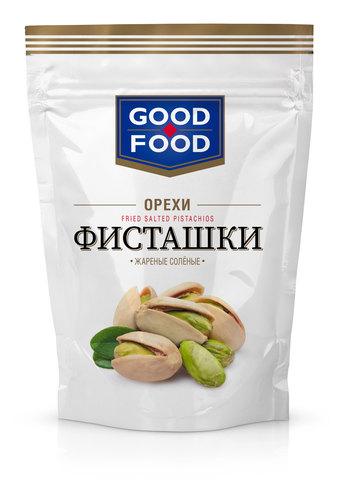 GOOD FOOD Фисташки жареные соленые 130 г