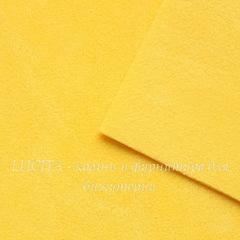 Замша искусств., желтая, лист 30х20 см