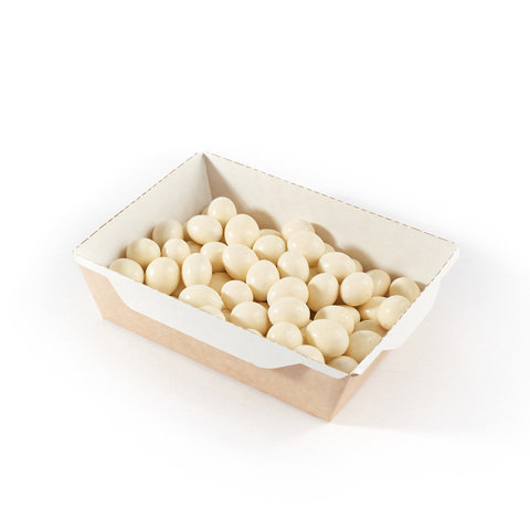 Миндаль в белой шоколадной глазури