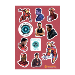 Набор стикеров Tony Stark