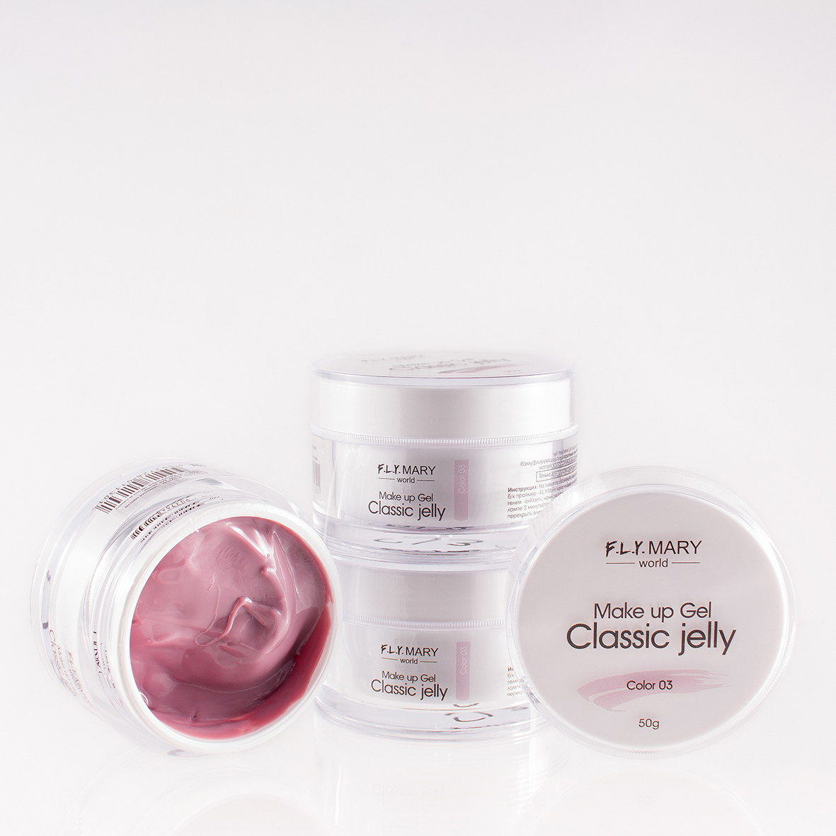 Гель FLY MARY Classic Jelly 03 15гр