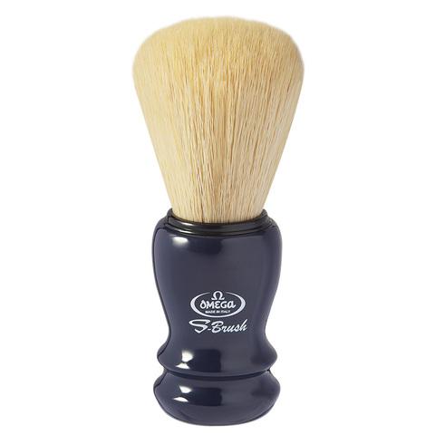 Помазок для бритья Omega синтетика черная ручка S10049