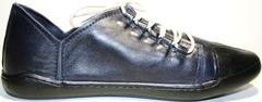 Кеды мокасины мужские кожаные Luciano Bellini 12