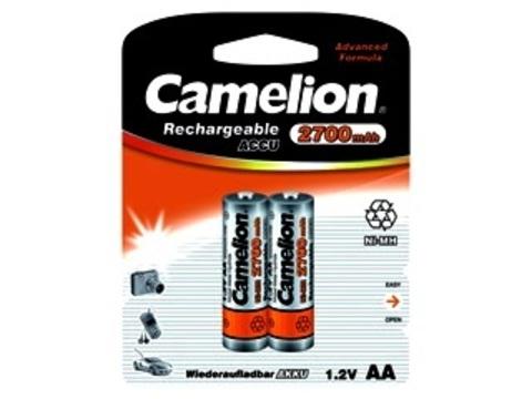 Аккумулятор Camelion AA 2700 mAh Ni-Mh BL2