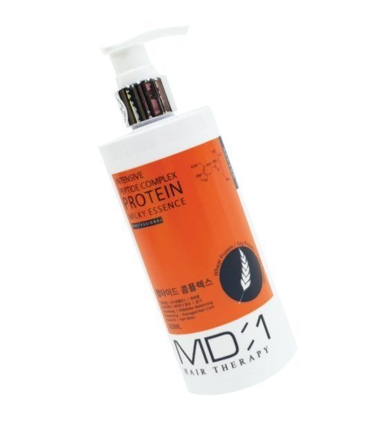 MED B Протеиновая эссенция для волос. Hair Therapy Intensive Peptide  Complex Protein Milky Essence, 300 мл