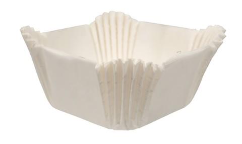 Форма-капсула Квадрат (белый) - 1000 штук