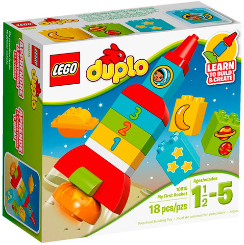 LEGO Duplo: Моя первая ракета 10815 — My First Rocket — Лего Дупло
