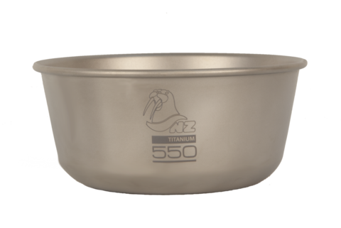 Титановая пиала Novaya Zemlya Ti Double Wall Bowl 0,55 л TBDW-550