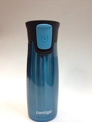 Термокружки Contigo (2 шт.) голубая/металлик
