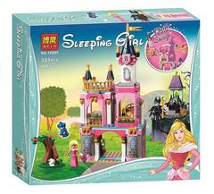 Конструктор серия Принцессы Сказочный замок Спящей Красавицы