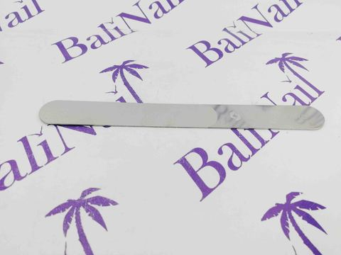 Staleks Лазерная пилка для ногтей EXPERT 11, 165 мм широкая прямая с ручкой,