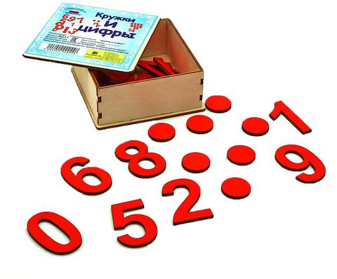 Обучающая игра Кружки и цифры, Smile decor А011