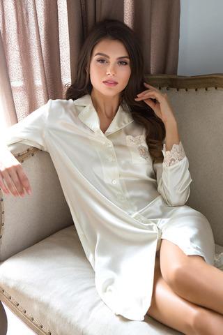 Рубашка Kristy 15114 Ecru Mia-Mia