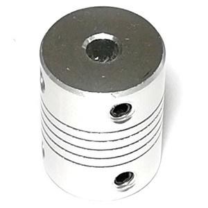 Компенсирующая алюминиевая соединительная муфта D19L25 (5x5 мм)