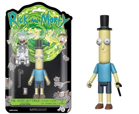 Фигурка Funko Action Figure: Rick & Morty: Poopy Butthole 12926