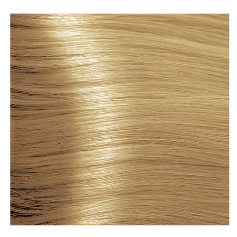 Крем краска для волос с гиалуроновой кислотой Kapous, 100 мл - HY 8.3 Светлый блондин золотистый