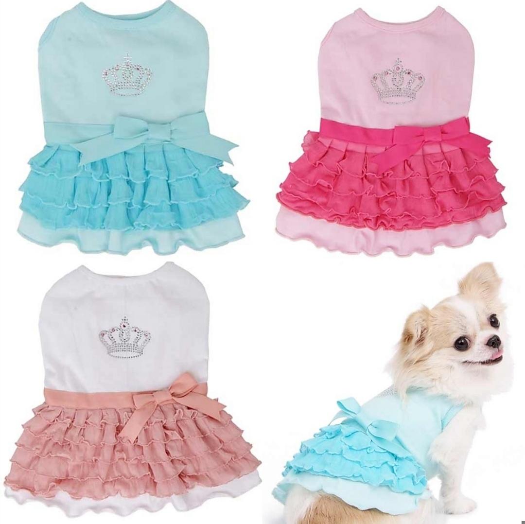 праздничные платья для собак