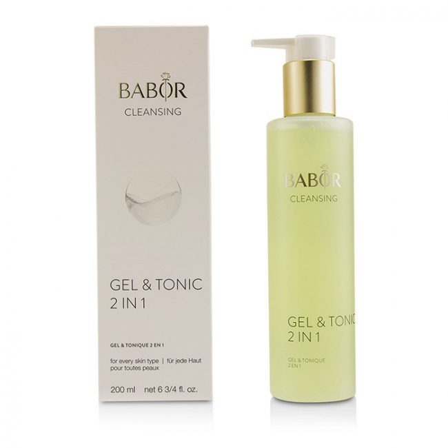 Очищающий Гель Babor Cleansing Gel Tonic 2 in 1 200ml