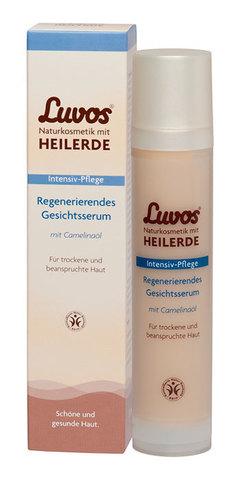 Восстанавливающая сыворотка для лица Luvos, 50 мл
