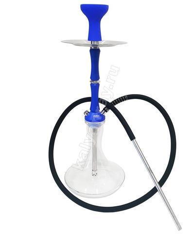 Кальян Shadows Agera Blue с колбой Craft Прозрачная (Tr)