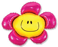 F Мини-фигура Цветочек (солнечная улыбка) фуксия, 14