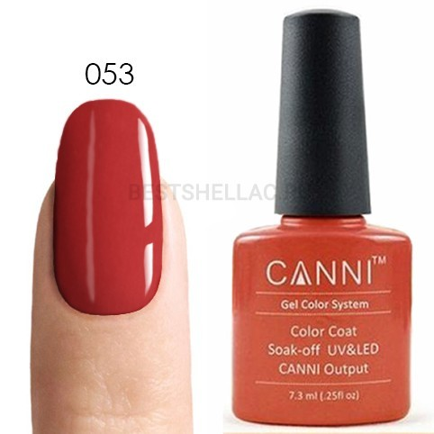 Canni Canni, Гель-лак № 053, 7,3 мл 053.jpg