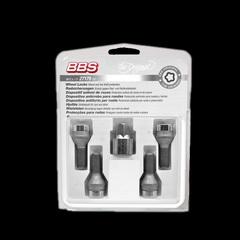 Комплект болтов колесных секретных BBS silver (4 болта M14x1.5x31.0 KE60°)