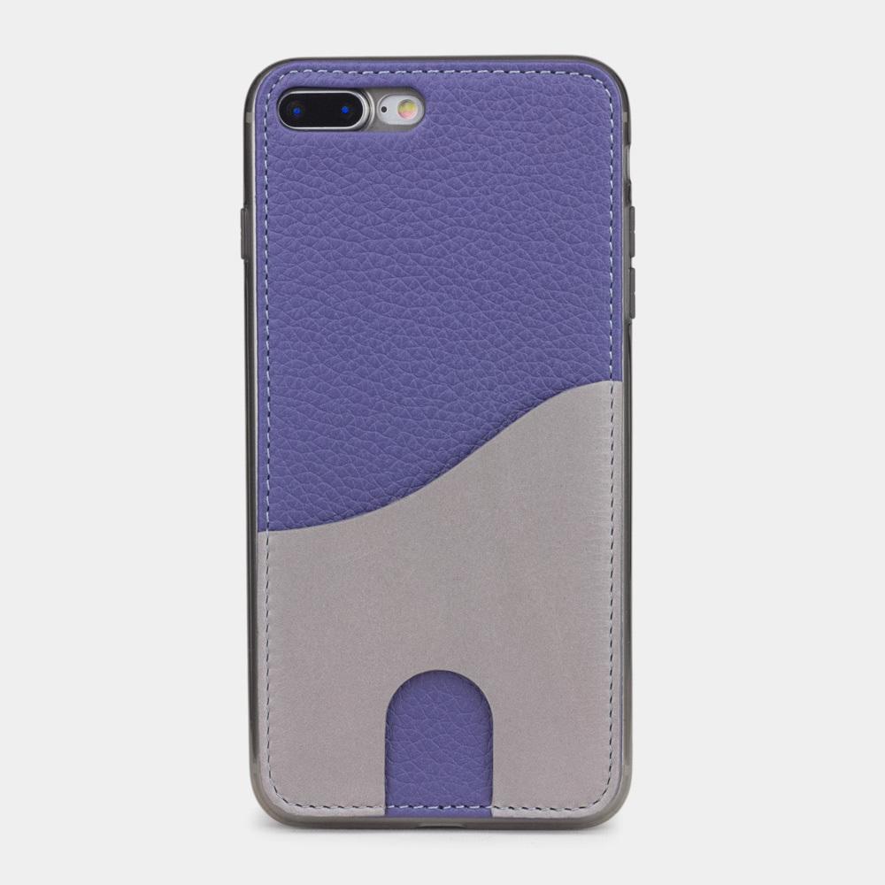 Чехол-накладка Andre для iPhone 7 Plus из натуральной кожи теленка, цвета сирени