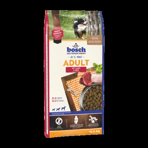 Bosch Adult Сухой корм для собак с ягненком и рисом