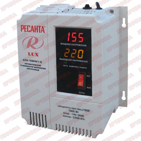 Стабилизатор АСН-1 500 Н/1-Ц Lux Ресанта