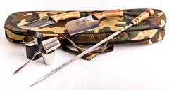 Шашлычный набор Камуфляж, Кизляр, фото 4